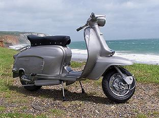 Lambretta on Isle of Wight